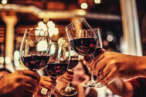 Restaurace v Mariánských Lázních - Víno