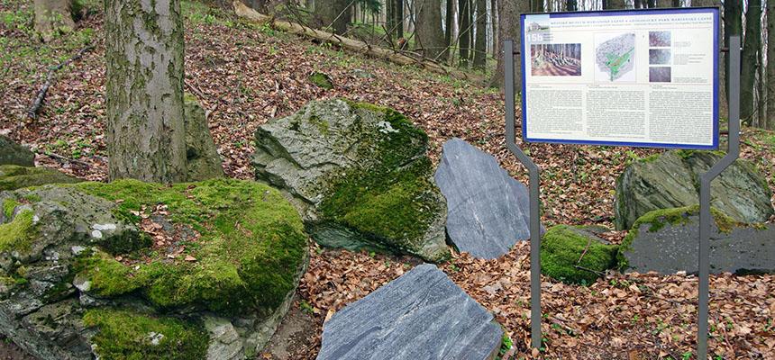 Geologický park - Mariánské Lázně