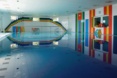 Ein Swimming-Pool ohne Chemie
