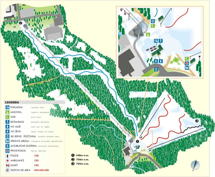 Maránské Lázně - Skiing