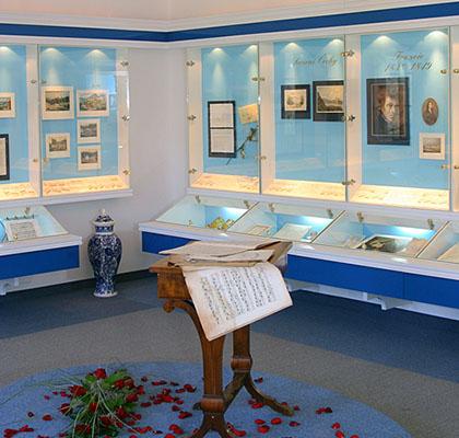 Památník F. Chopina - Mariánské Lázně