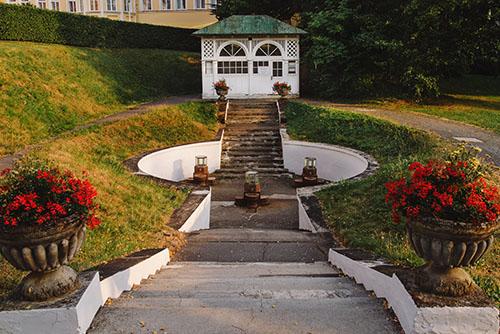 Ambrožův pramen -  Mariánské Lázně