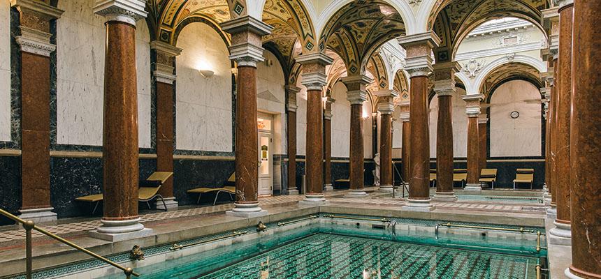 Römisches Bad in Marienbad